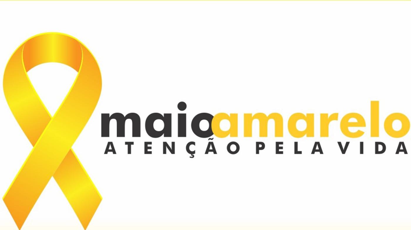 Prefeitura distribuirá máscaras para conscientizar sobre Maio Amarelo e Covid-19, na terça (11)