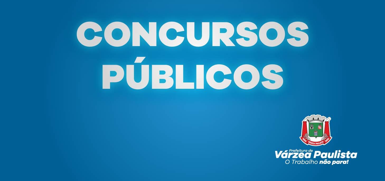 Prefeitura de Várzea Paulista abre Concurso Público