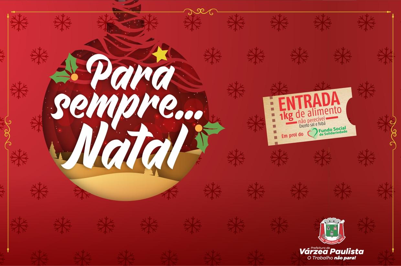 """Prefeitura apresenta peça """"Para Sempre Natal"""" dia 19 de dezembro"""