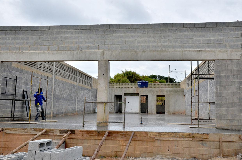 Obras do Centro de Triagem de Resíduos Sólidos estão em andamento
