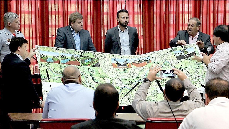 Frente Parlamentar busca melhorias para Marginal do Rio Jundiaí