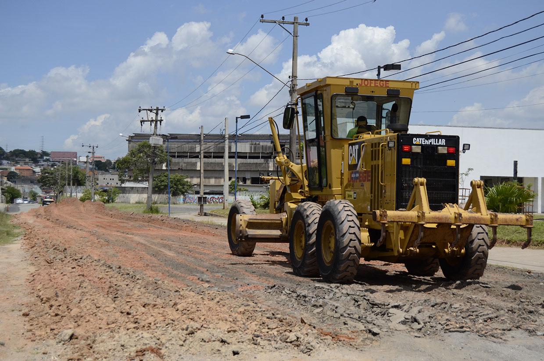 Prefeitura inicia asfaltamento da Rua José da Silva Leme