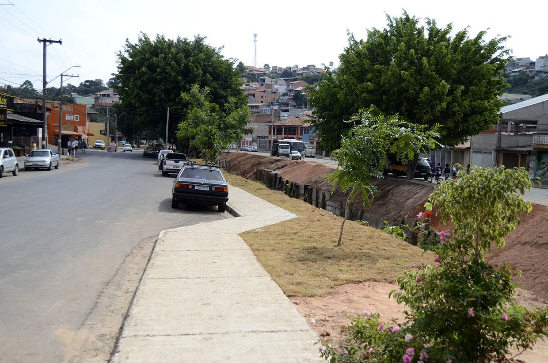 Avenida Tanabi recebe melhorias