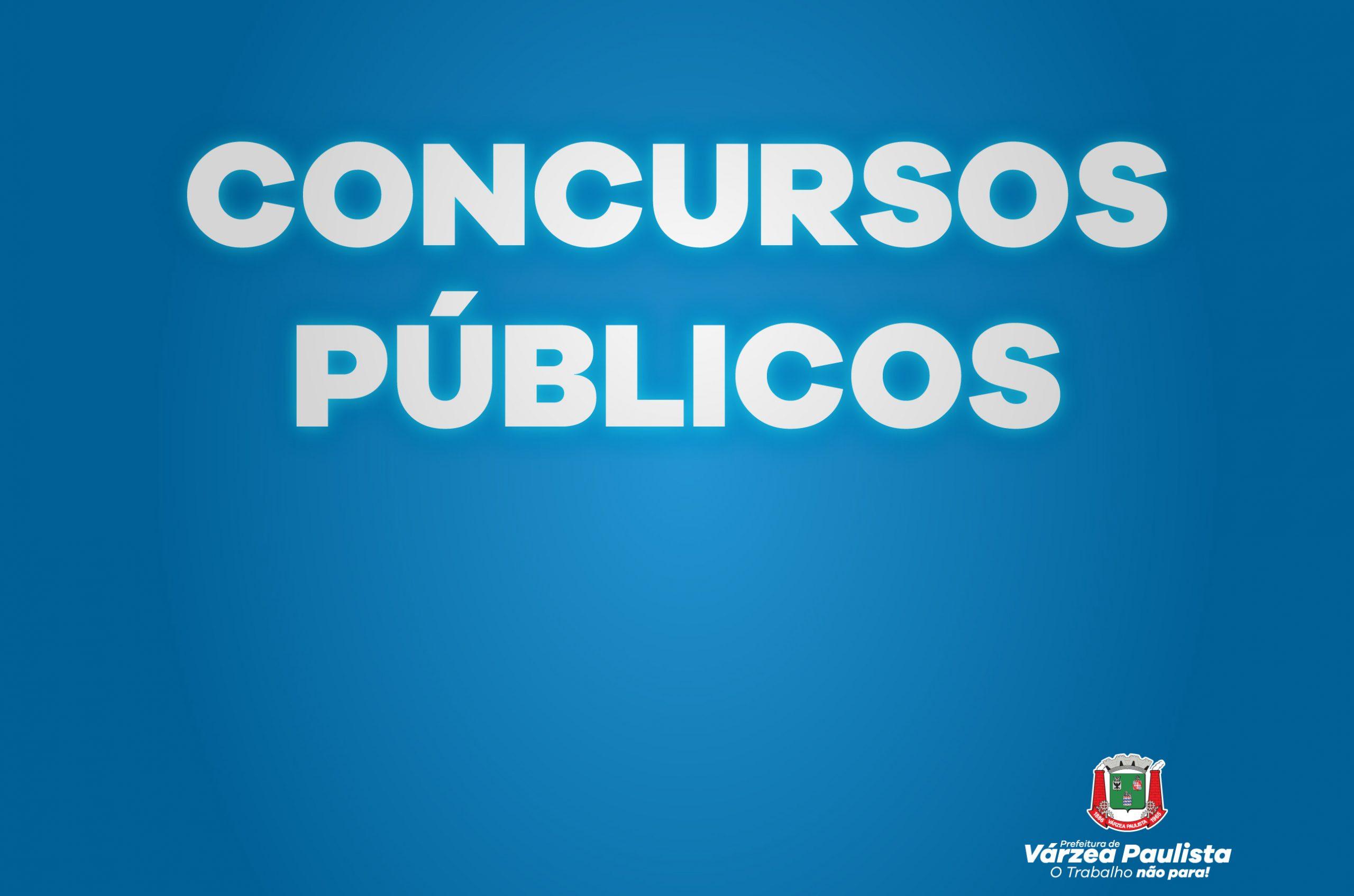 Inscrições para Concurso Público vão até segunda-feira (13)
