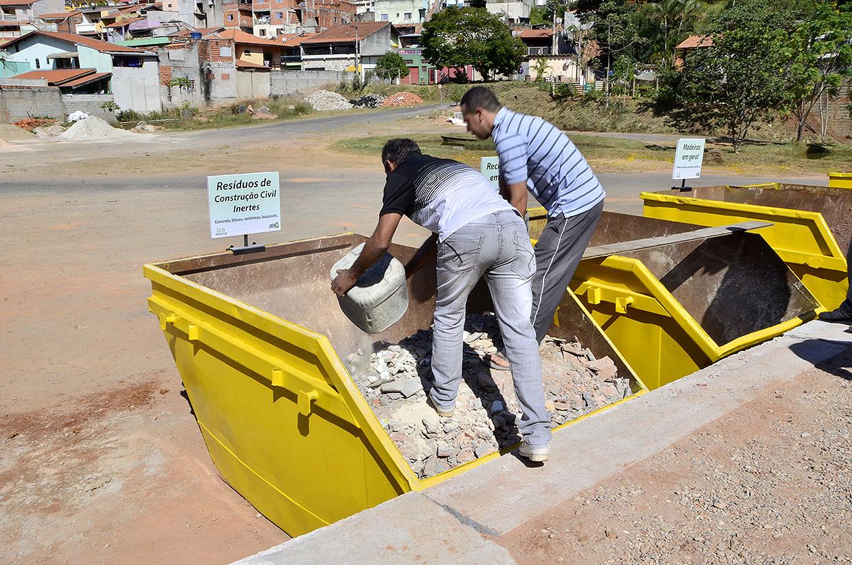 Descarte no Ecoponto é destinado a moradores de Várzea Paulista