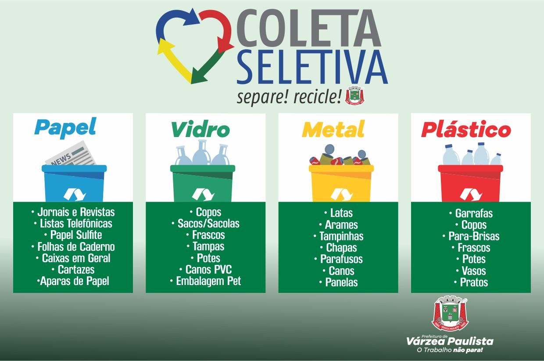 Várzea Paulista realiza coleta seletiva em 16 bairros
