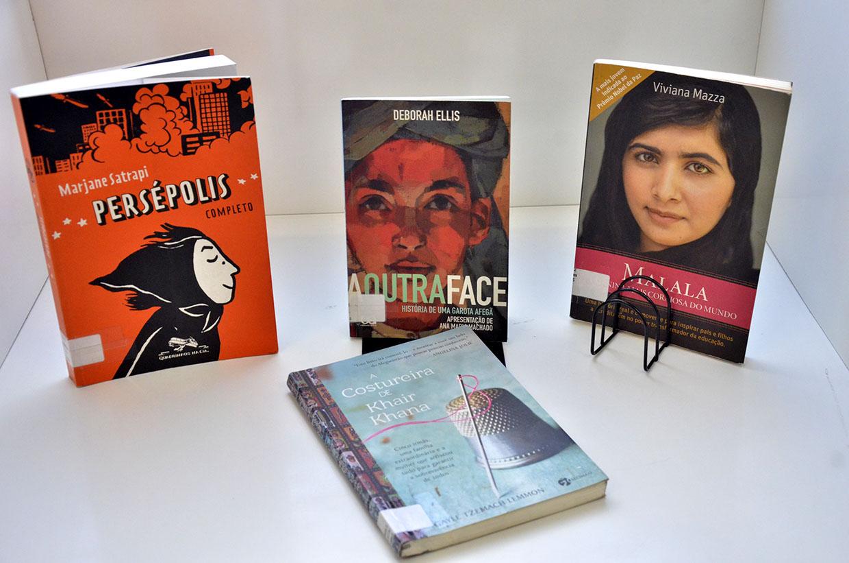 Livros e biografias sobre a liberdade e o direito da mulher