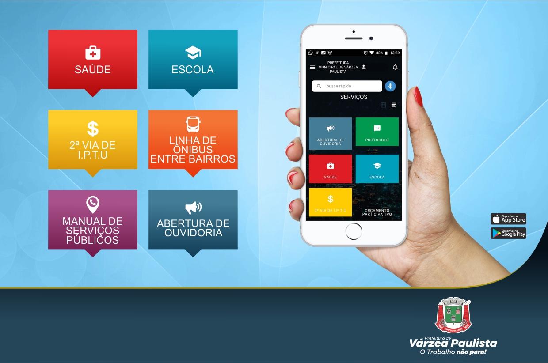 Conheça 7 motivos para baixar o aplicativo Cidadão Online da Prefeitura de Várzea Paulista