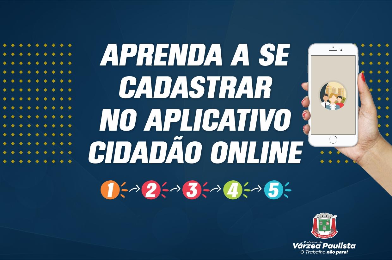 Aprenda o passo a passo para se cadastrar no app Cidadão Online