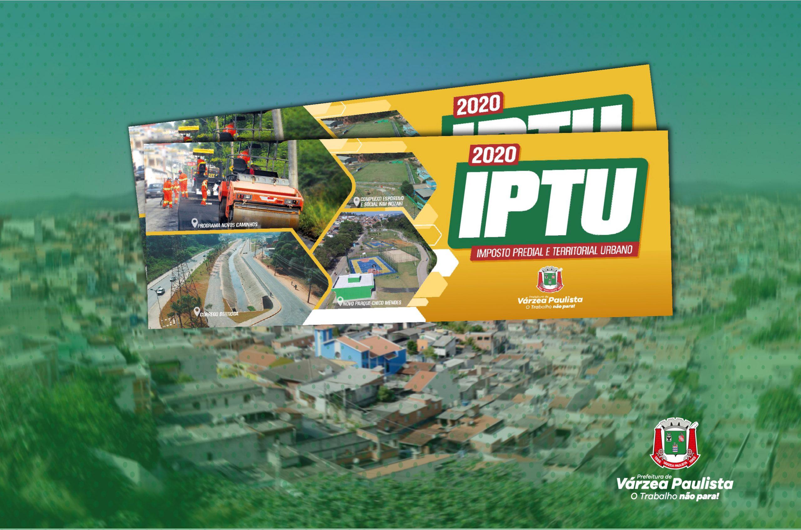 Saiba como imprimir a segunda via do carnê  do IPTU 2020
