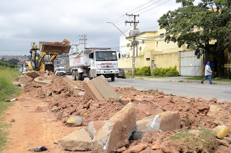 Obras na Rua Sorocaba já começaram