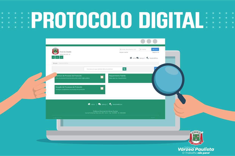 Prefeitura oferece à população Protocolo Digital