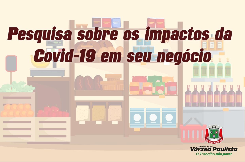 Participe da pesquisa sobre os impactos da Covid-19 no seu negócio