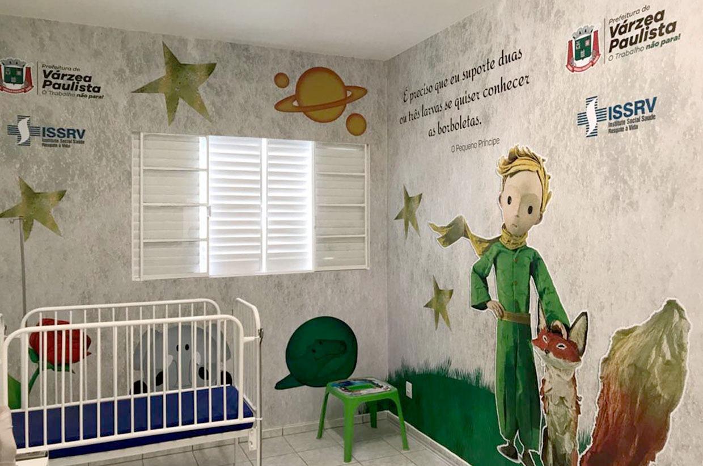 Prefeitura finaliza reforma da ala pediátrica do Hospital Municipal Dr. Alcípio