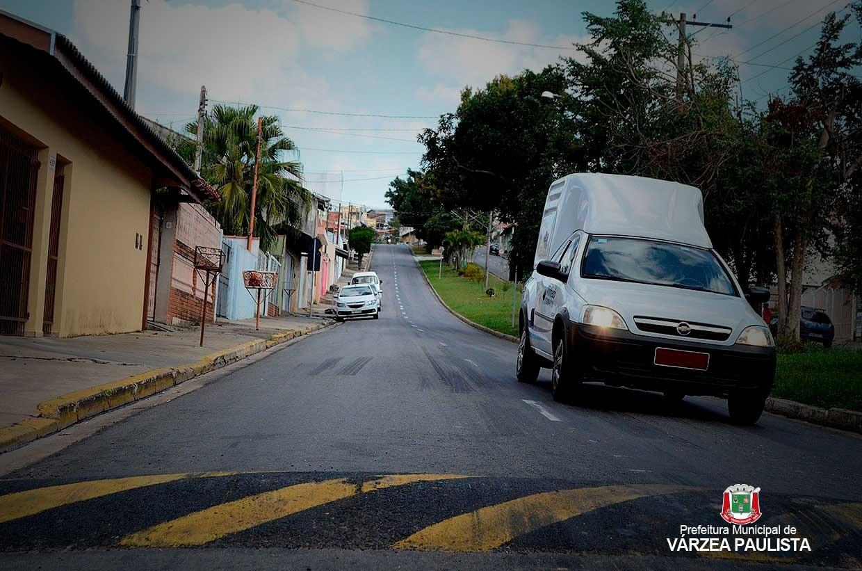 Várzea Paulista ganha mais de 4 km de defensas e 25 lombadas