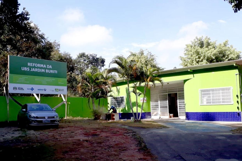 UBS Jardim Buriti tem reforma concluída nesta semana e volta a atender população quinta-feira (18)