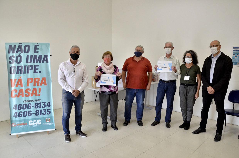 Prefeitura recebe doação do Rotary Club de Várzea Paulista