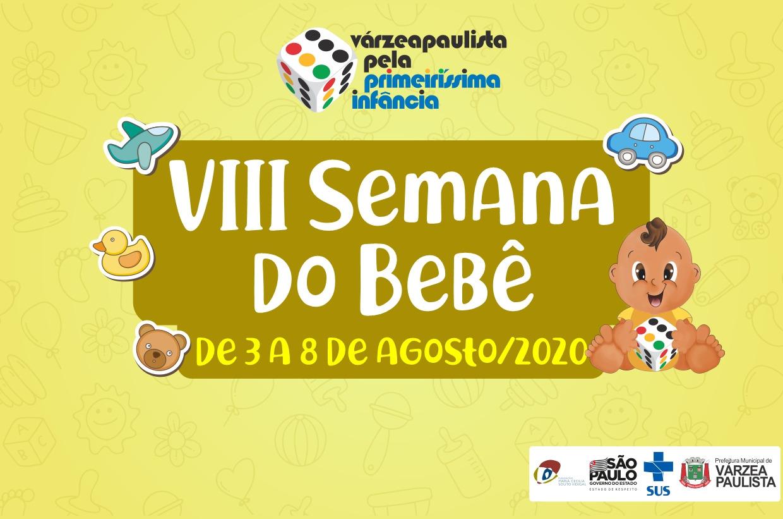 8ª Semana do Bebê de Várzea Paulista será comemorada virtualmente