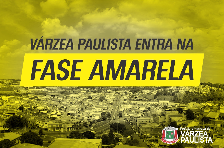 Várzea Paulista entra na Fase Amarela do Plano São Paulo