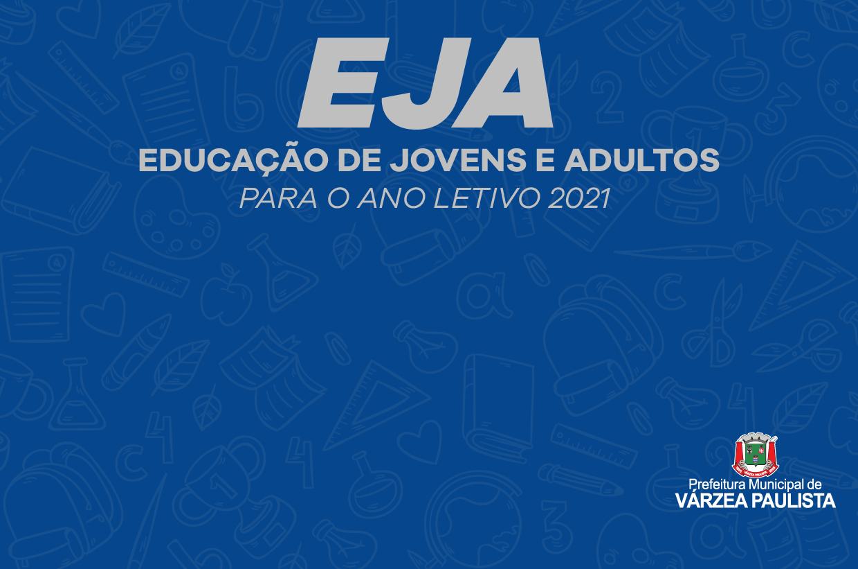 Matrículas para primeiro semestre da EJA em 2021 têm início em novembro