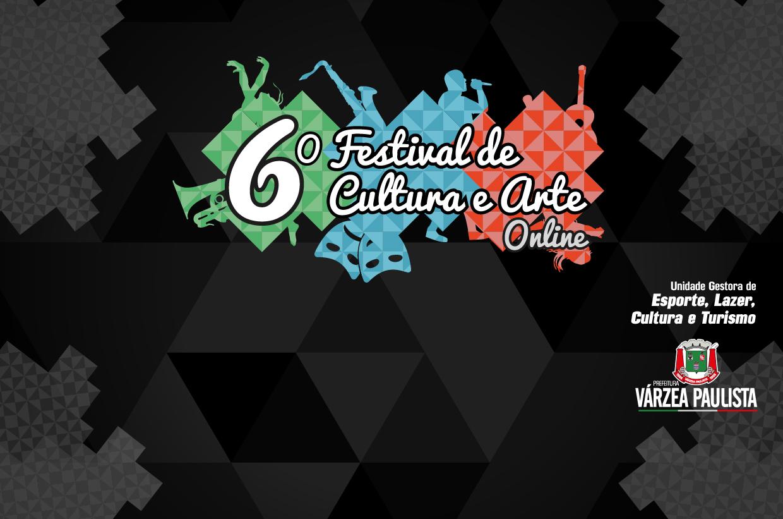Do presencial para o digital:  6º Festival de Cultura e Arte de Várzea Paulista ocorre nesta semana