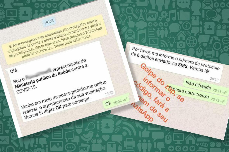 Varzinos devem ficar atentos contra golpe do falso agendamento de vacinação por WhatsApp