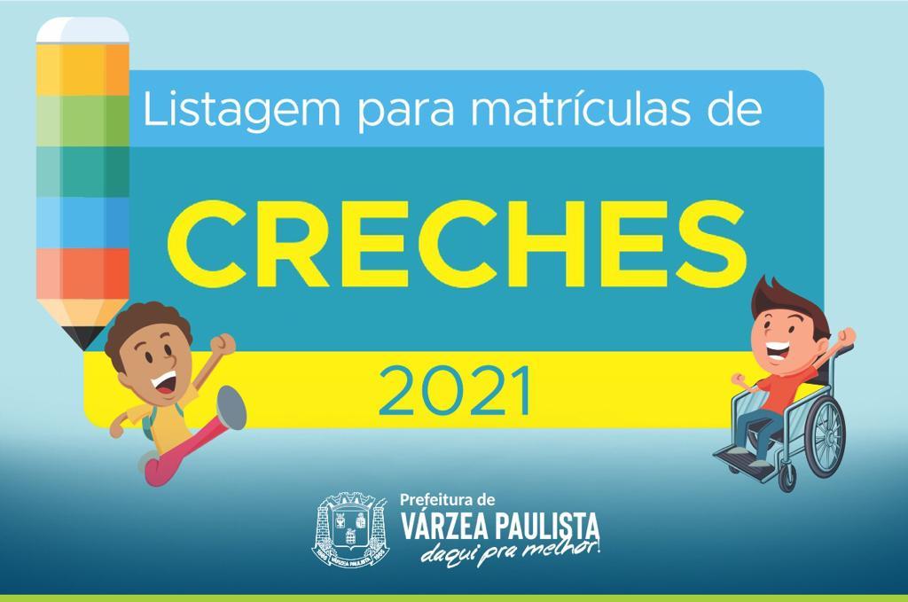 Prefeitura de Várzea Paulista divulga 3ª chamada para matrículas de creches