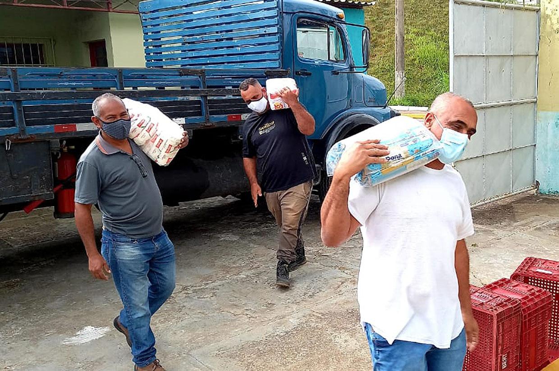 Fundo Social de Várzea Paulista recebe doação de 1 tonelada de alimentos