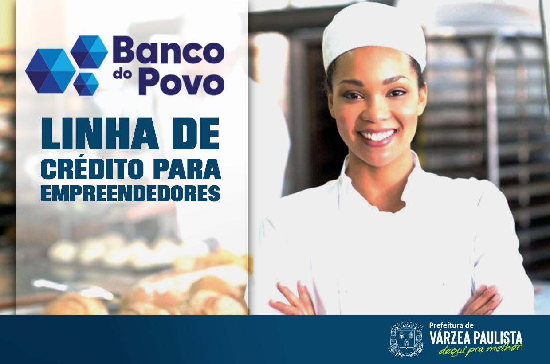 Banco do Povo oferece linha de crédito Empreenda Rápido para empreendedores varzinos