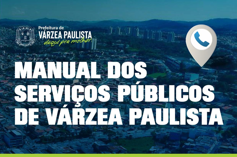 Prefeitura disponibiliza manual sobre os serviços públicos de Várzea Paulista