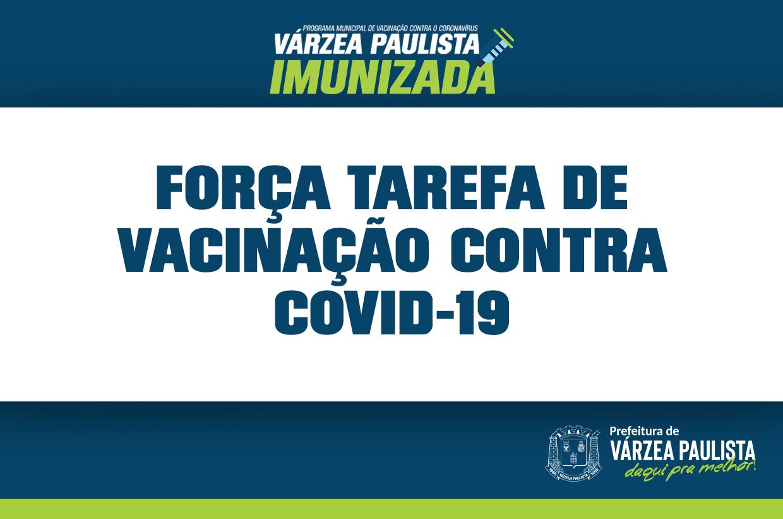 Sexta-feira (30) UBSs terão atendimento exclusivo para vacinação contra a Covid-19