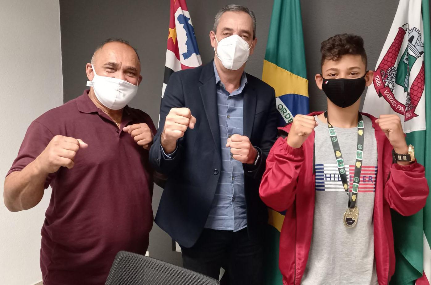 Breno de Oliveira Soares é convocado para a seleção brasileira de Kickboxing