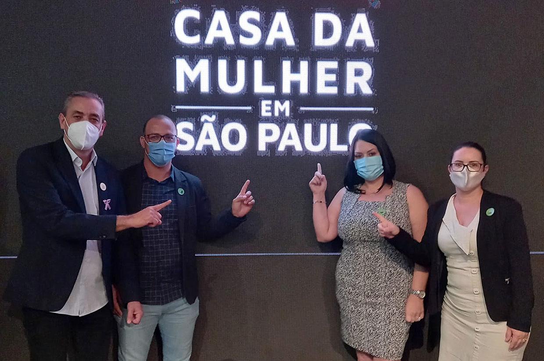 Governador lança projeto Casa da Mulher em SP para acolhimento e capacitação do público feminino