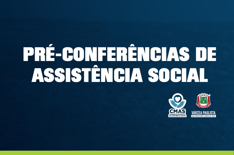 Várzea Paulista terá Pré-Conferências de Assistência Social de 23 a 27 de agosto