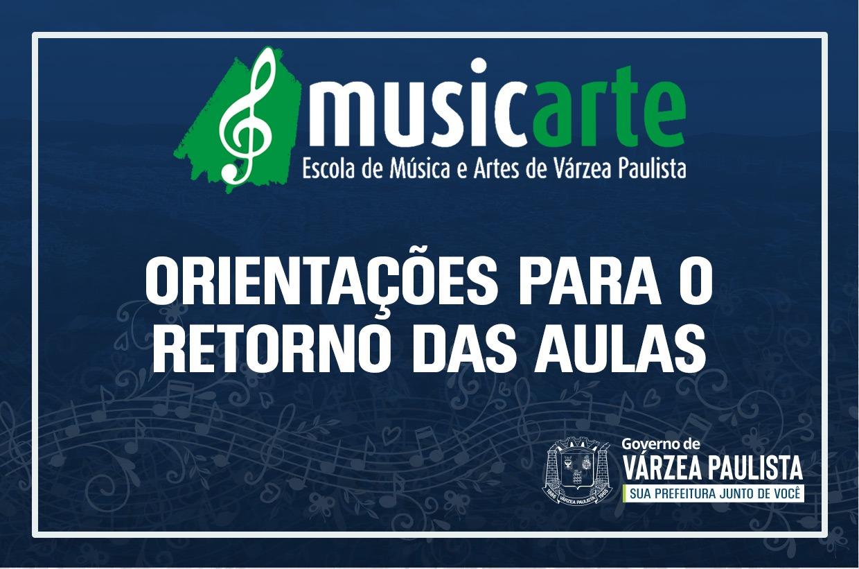 Musicarte retorna as aulas presenciais segunda-feira (23)