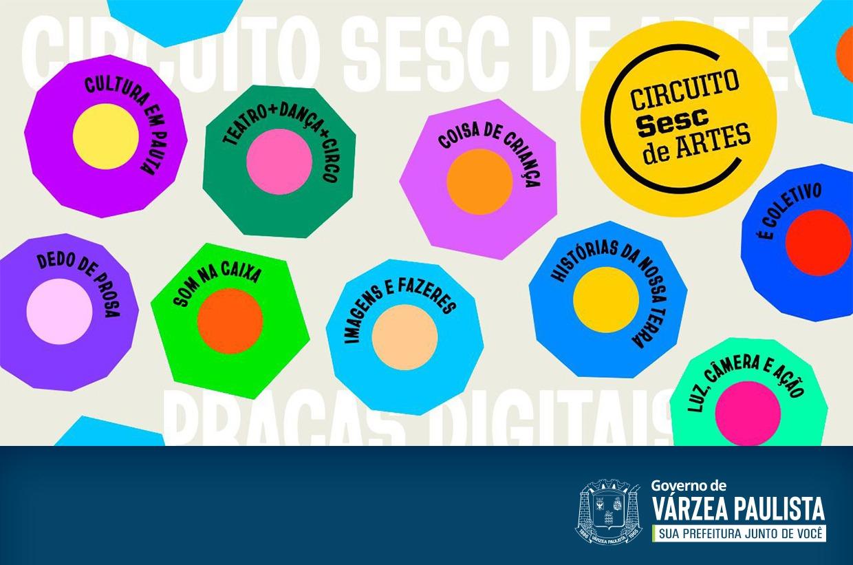 Circuito Sesc de Artes tem atividades online e gratuitas